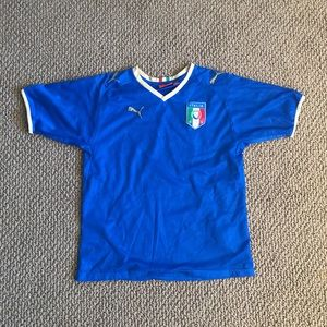 Italy Puma World Cup Soccer Jersey